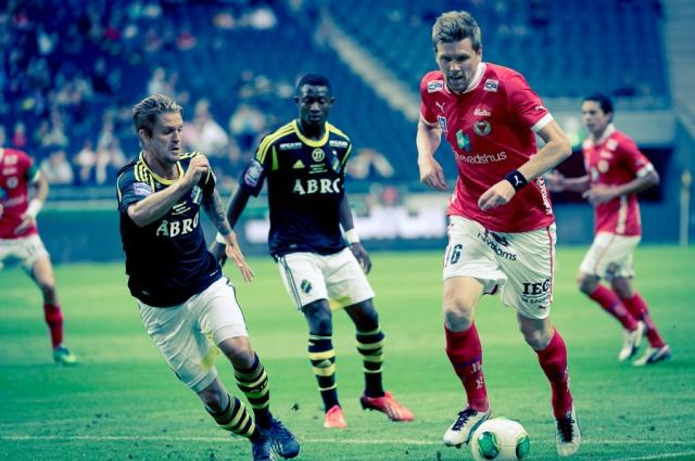 Fotboll, Allsvenskan AIK-Kalmar