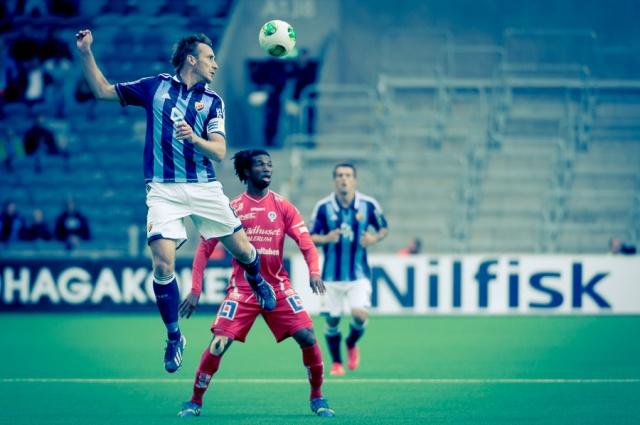 Fotboll, Allsvenskan DIF-Åtvidaberg